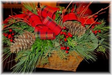 Woodland Basket an Inspriations Original Design