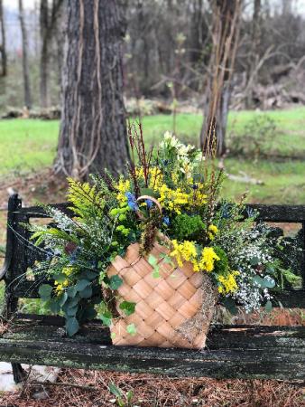Woodland Basket Powell Florist Featured Arrangement