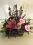 Woodland Beauty Basket Fresh Arrangement