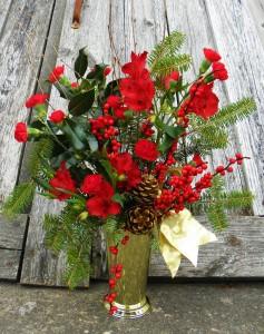 Woodland Bouquet  Fresh flower arrangement in a vase