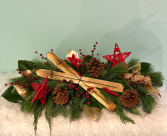 Woodland Christmas Arrangement