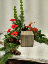 Woodland Crescent  Memorial Urn arrangement
