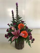 Woodland Elegance Vased Fresh
