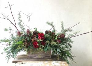 Natural Woodland  Arrangement in Toronto, ON | BOTANY FLORAL STUDIO