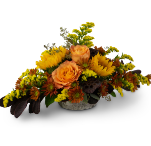Woodland Sunset Arrangement in Burnt Hills, NY | THE COUNTRY FLORIST
