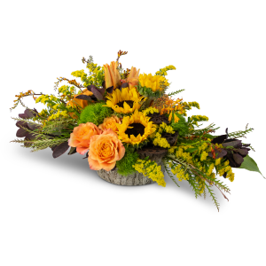 Woodland Vibrance Arrangement in Burnt Hills, NY | THE COUNTRY FLORIST
