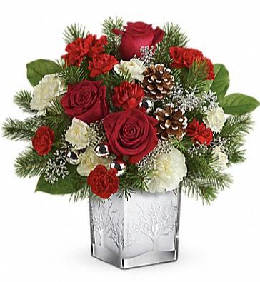 Woodland Winter Bouquet Arrangement