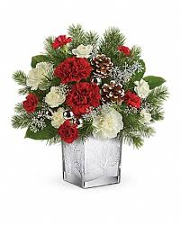 Woodland Winter Bouquet Christmas Arrangement
