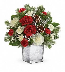 Woodland Winter Bouquet floral arrangement