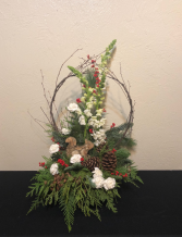 Woodland Winter Keepsake Arrangement