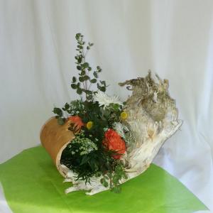 Woodland Wonder 1 Birch Bark Design in Norway, ME   Green Gardens Florist & Gift Shop