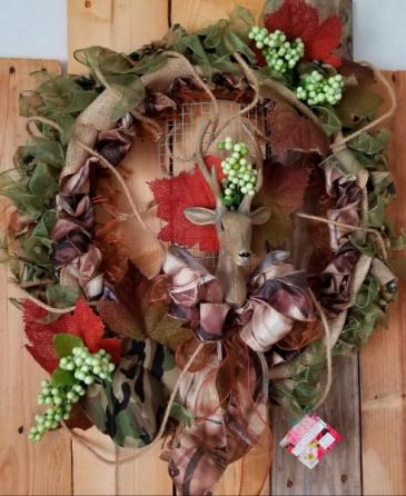 Woodland Wreath artificial wreath