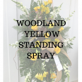 Woodland Yellow Standing Spray