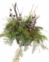 Woodlands Country Christmas Arrangement