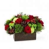 Woodsy Christmas Arrangement