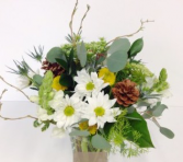 Woodsy Daisy's Flower arrangement