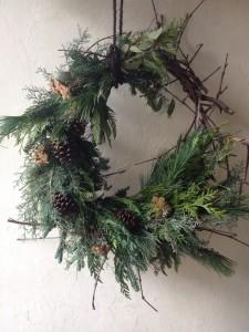 Woodsy Holiday Wreath
