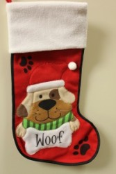 Woofy Christmas Stocking