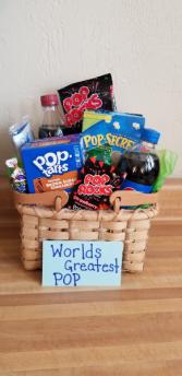 Worlds Greatest Pop Father's Day Basket