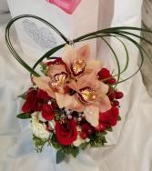 Wow arrangement  Valentine Arrangement