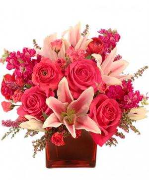 WOW Factor! Arrangement in Texas City, TX | BRADSHAW'S FLORIST INC.
