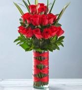 Wow Her! 24 Premium Roses