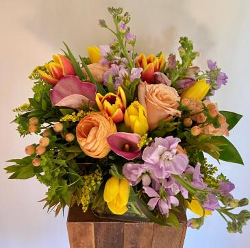 Spring Florist's Choice Flower Arrangement