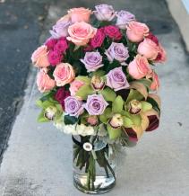 WOW Your Valentine! Vased Arrangement