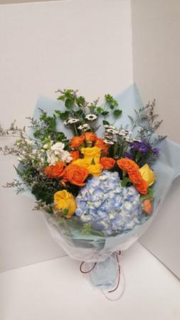 Colorful Wrap Bouquet