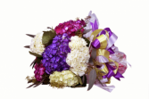 wrap hydrangea bouquet all year round GEF004