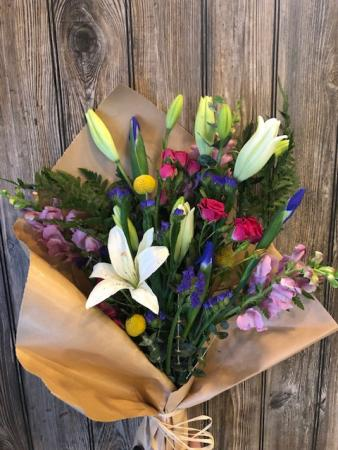 Wrap Of Flowers  Subscription
