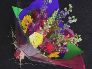 Wrapped Arrangement All occasion in Monmouth, OR | PETALS & VINES FLORIST
