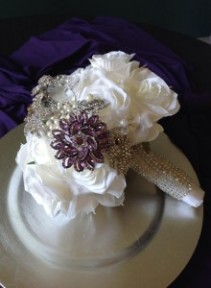 Wrapped Bling Bouquet