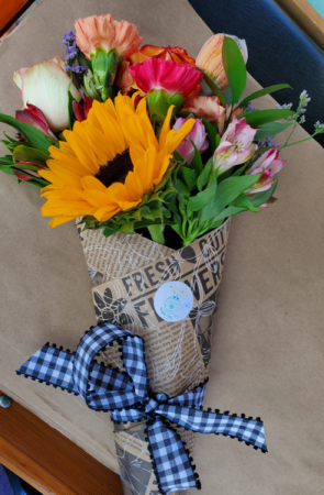 Wrapped Bouquet   in Royse City, TX | Annie Lane's Flowers