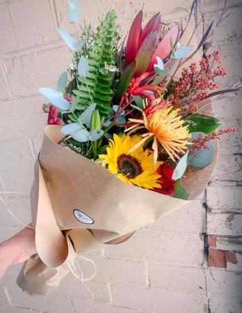 Wrapped Bouquet  Fresh flower wrap bouquet