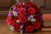 Wrapped Bqt. Roses Wrapped arrangement