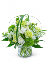 Wrapped in Cashmere Flower Arrangement