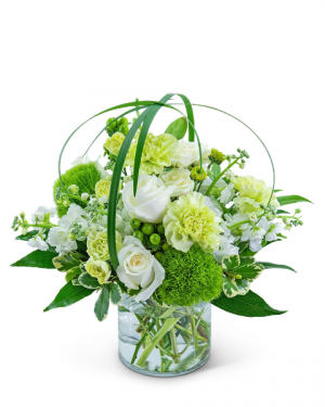 Wrapped in Cashmere Flower Arrangement in Nevada, IA | Flower Bed