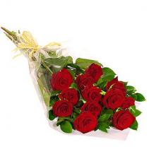 Dozen red roses  DOZEN WRAPPED ROSES
