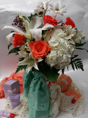 Wrapped with Love Mothers Day in Pigeon, MI | HAIST FLOWERS & GIFTS