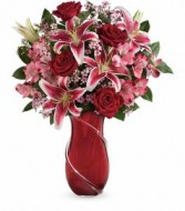 Wrapped with Passion Floral Bouquet