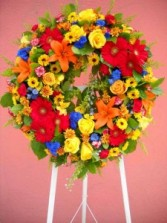 Wreath 10 Wreaths, and Crosses