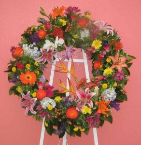 Wreath 3 Wreaths, and Crosses in New Orleans, LA | HARKINS THE FLORIST