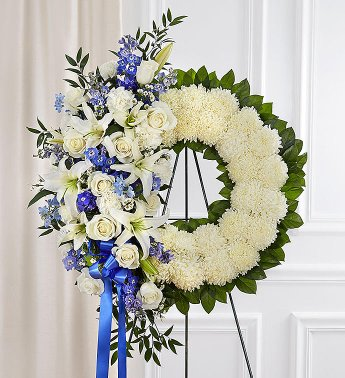 WREATH 6 STAND WREATH FOR A SERVICE/MEMORIAL