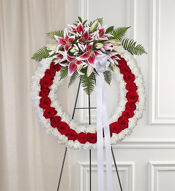 WREATH 7 STAND WREATH FOR A SERVICE/MEMORIAL
