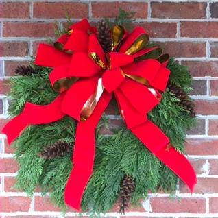 Fresh Cedar Wreath Fresh Greenery Wreath