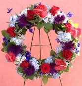 Wreath 7 Wreaths, and Crosses
