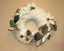 Wreath Cosy Home Christmas Wreath