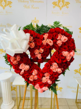 Wreath Heart Full of Roses Wreath Heart