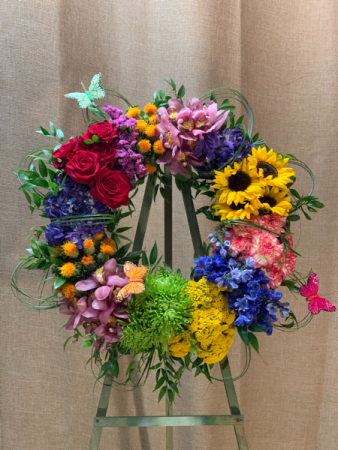 Wreath of Color